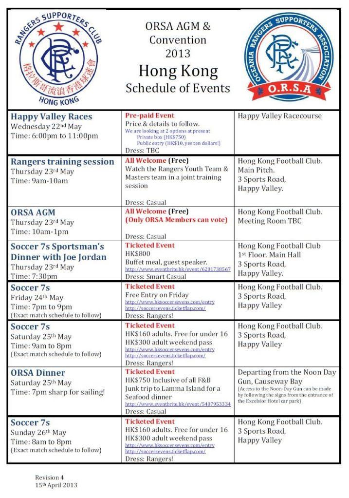 Schedule of Events 1 Rev4